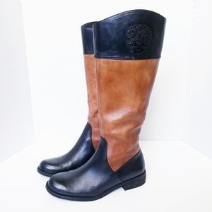Vince Camuto Kellini Two Toned Riding Boots 8